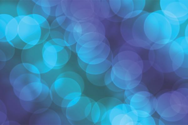 abstract art background blue circles