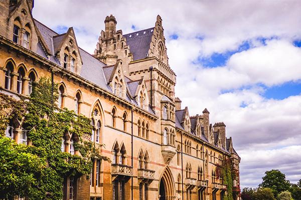 Picture of building to show Oxford landscape