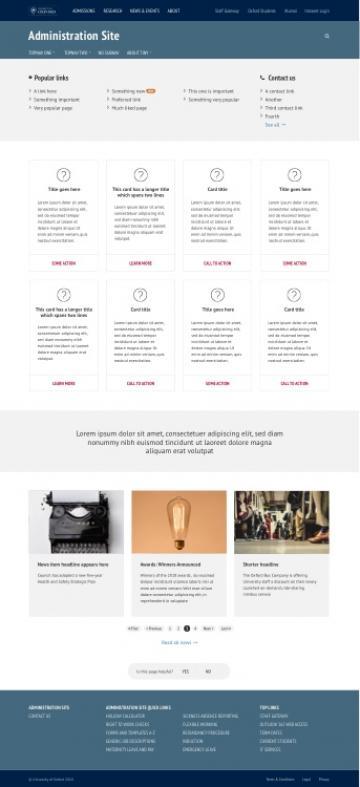 desktop  homepage  information heavy 750h